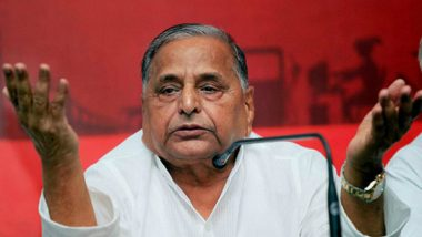 No-Confidence Motion Debate: Mulayam Singh Yadav Questions Centre on Unemployment, Farmers Plight