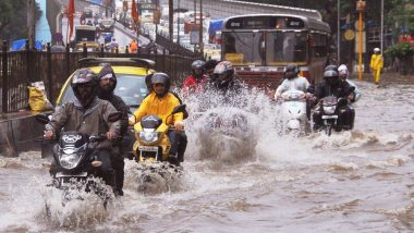 Mumbai: Rains Lash City, Traffic Disrupted in Suburbs And Thane, Local Trains Unaffected