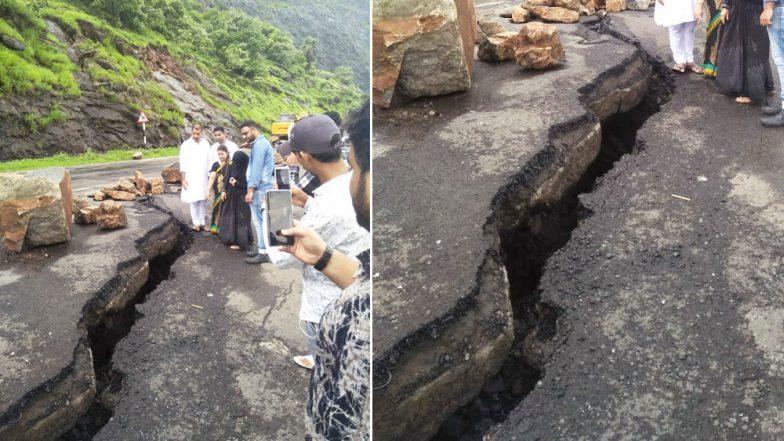 Mumbra Bypass Route in Mumbai Develops Severe Cracks, Road Repair and Resurfacing Work May Extend Further