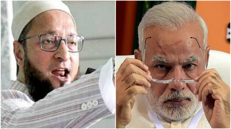 Asaduddin Owaisi Hits Out at Narendra Modi Over 'Minorities Being Deceived' Remark, Calls It Hypocrisy