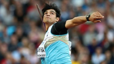 Neeraj Chopra at Tokyo Olympics 2020, Athletics Live Streaming Online: Know TV Channel & Telecast Details for Men's Javelin Throw Qualification Coverage