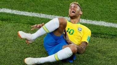 Brazilian Football Superstar Neymar Suffers Recurrence of Fifth Metatarsal Injury in His Right Foot