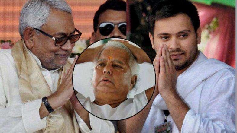Nitish Kumar Hits Back at Tejashwi Yadav, Says 'Won't Inquire About Lalu Prasad Yadav's Health Now Onwards'