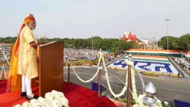 Independence Day 2020 Speech by PM Narendra Modi Live Streaming on DD News: Watch Live Video of Tricolour Flag Hoisting And Celebration at Red Fort to Mark India's 74th I-Day