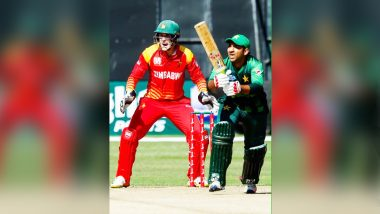 Pakistan vs Zimbabwe T20I 2018 Live Cricket Streaming: Get Live Cricket Score, Watch Free Telecast of PAK vs ZIM, Tri-Series T20 Match on TV & Online