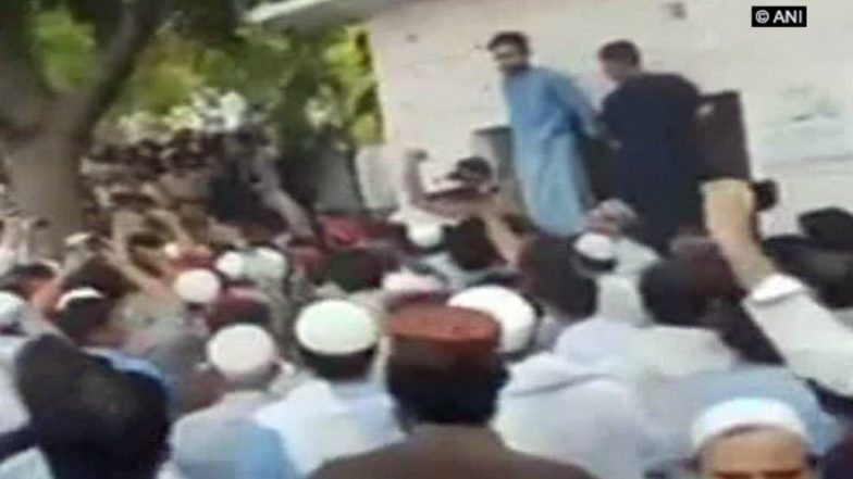 Protests Staged Against Pakistan Army over ANP leader Haroon Bilour's Death