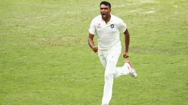 Ravichandran Ashwin 1 Wicket Away From Equalling Muttiah Muralitharan's Test Record of Fastest to 350 Wickets