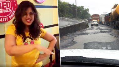 RJ Malishka Attacks BMC With Zingat-Inspired Music Video on Potholes