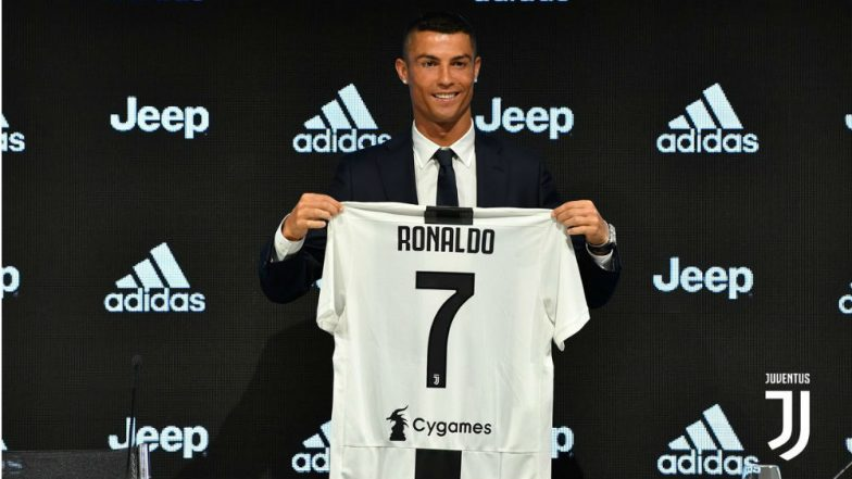 Cristiano Ronaldo Unveiled As Juve Player- See Pics of CR7 Juventus Jersey a95b71606