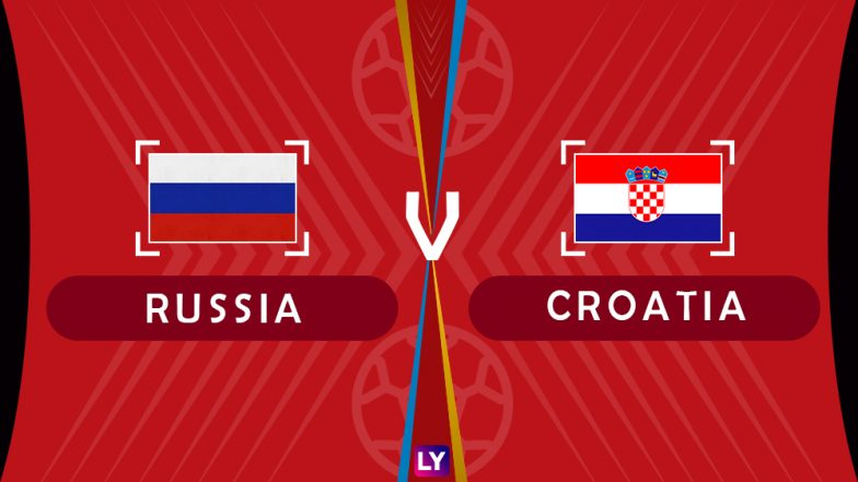 Russia vs Croatia, Live Streaming of Quarter-Finals 4: Get Knockout Match RUS vs CRO Telecast & Free Online Stream Details in India for 2018 FIFA World Cup