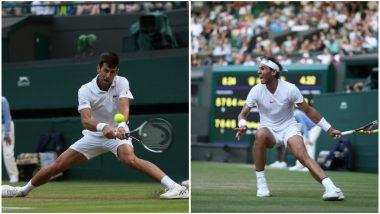 Rafael Nadal vs Novak Djokovic, Wimbledon 2018 Live Streaming: When and Where To Watch the Men's Singles Tennis Semi-final Match in India?