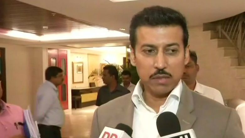 Dantewada Naxal Attack: I&B Minister Rajyavardhan Rathore Announces Job For Martyred DD Cameraperson's Wife