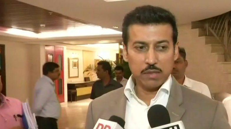 Rajyavardhan Rathore: 'National Sports University Bill to Focus on Budding Sportsperson'