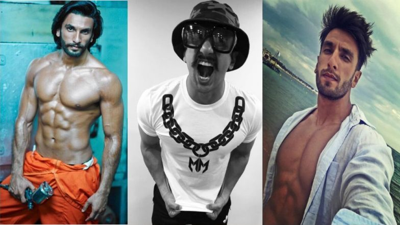 Ranveer Singh Flaunting His Rock-Hard Abs Will Make You Want To Not Leave Your Gym