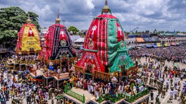 Puri Rath Yatra 2020 Likely to be Held Without Devotees Amid Coronavirus Pandemic