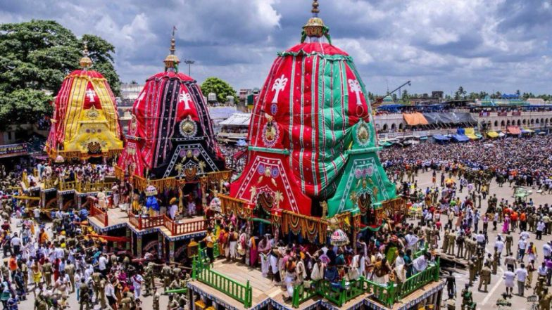 Jagannath Puri Rath Yatra 2018 Live Streaming: Watch Telecast of Lord Jagannath's Procession From Odisha
