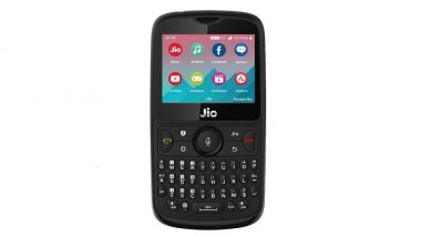 Reliance Jio Phone 2 Priced at Rs 2,999 to Go on Sale on August 15; Offers, Specifications & Features