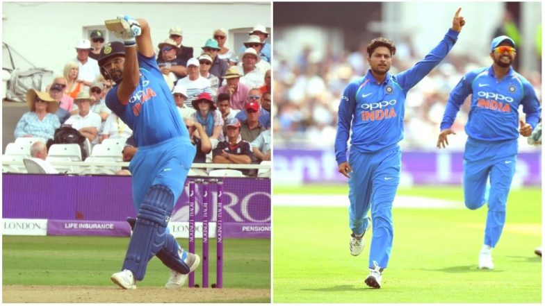 IND vs ENG, 1st ODI 2018, Video Highlights and Match Result: Rohit Sharma's Ton and Kuldeep Yadav's Maiden Five-For Help India Defeat England at Nottingham