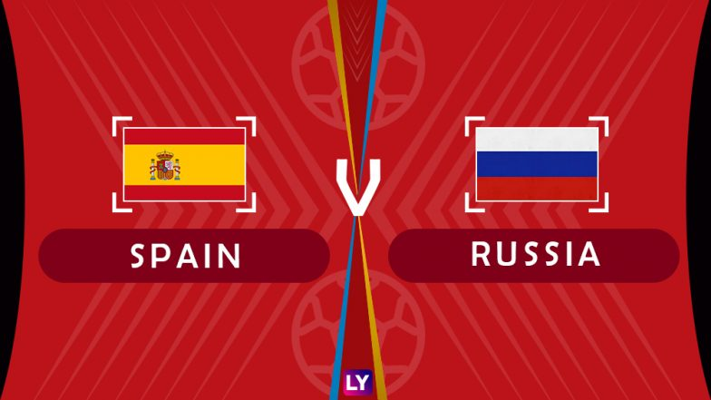 Spain vs Russia, Live Streaming of Round of 16 Football Match 3: Get Knockout Stage Telecast & Free Online Stream Details in India for 2018 FIFA World Cup