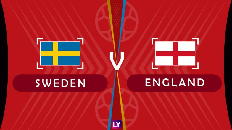 Sweden vs England, Live Streaming of Quarter-Finals 3: Get Knockout Match SWE vs ENG Telecast & Free Online Stream Details in India for 2018 FIFA World Cup