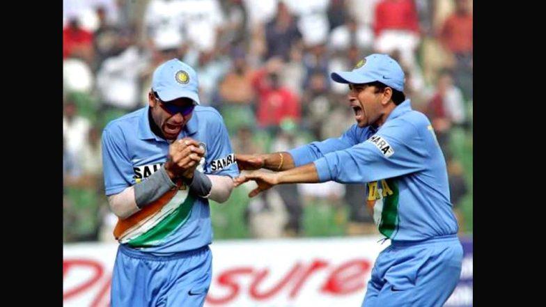 Sachin Tendulkar Tweets Greetings on Mohammad Kaif's Retirement: Watch Conversation Between Former Indian Players!