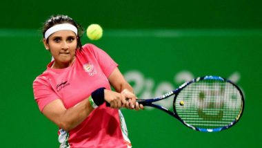 Sania Mirza Advances to Hobart International 2020 Women's Doubles Final Post Comeback, One Step Away From Glory