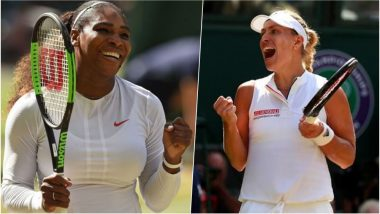 Serena Williams vs Angelique Kerber, Wimbledon 2018 Live Streaming: When and Where to Watch the Women's Singles Tennis Final Match in India?