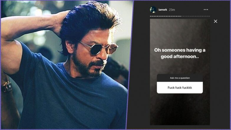 Shah Rukh Khan Tries Instagram's 'Ask Me a Question' Feature and His Replies to Questions on 'F*CK' to 'Poop' Are Just Sooo SRK!