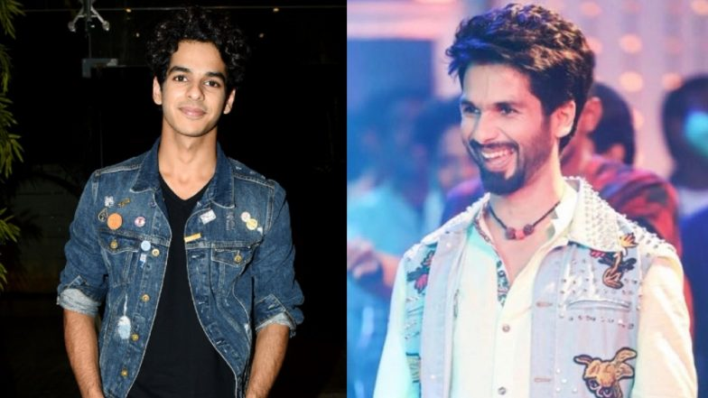 Shahid Kapoor And Ishaan Khatter Have Their Doodled-Denim Game On Point - view pics!