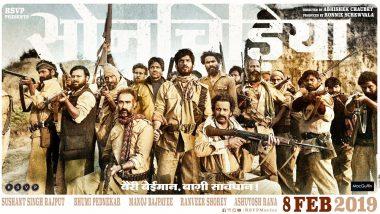 Son Chiriya Poster: Sushant Singh Rajput – Bhumi Pednekar's Crime Drama to Release on 8th February 2019