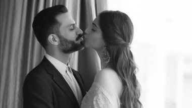 Sonam Kapoor and Hubby Anand Ahuja's 'Almost Kiss' Picture Is Both Cute and Hot!