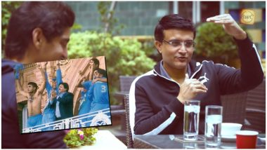 Sourav Ganguly Revisits the Famous Lord's Incident, Talks About His Equation With Teammates and Much More in This Candid Interview (Watch Video)