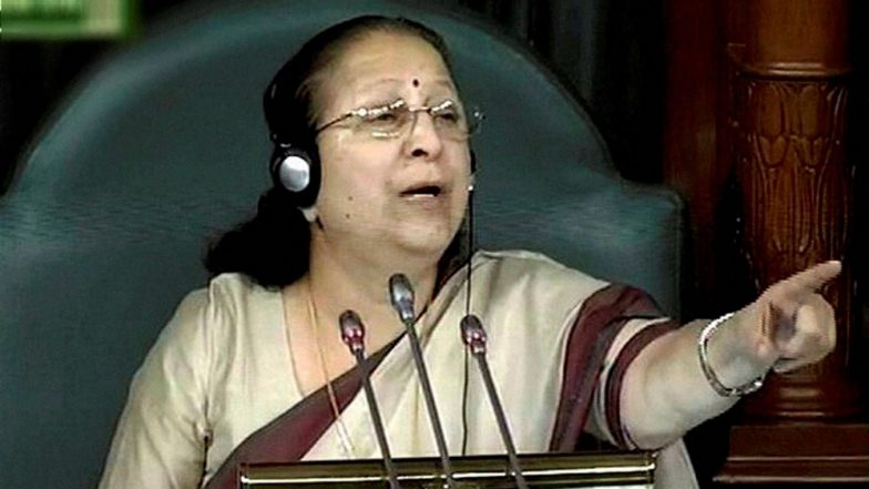 Lok Sabha Speaker Sumitra Mahajan Suspends 4 More MPs, Adjourns House For The Day