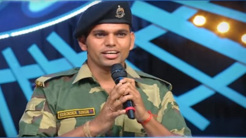 BSF Jawan Singing 'Sandese Aate Hain' Gets Applauded on Social Media; Video of Indian Idol 10 Contestant Goes Viral