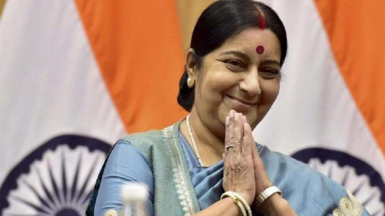 Sushma Swaraj Points Out Error In Journalist Shekhar Gupta's Tweet On Swami Agnivesh Assault, Remains Silent On Attack; Gets Trolled