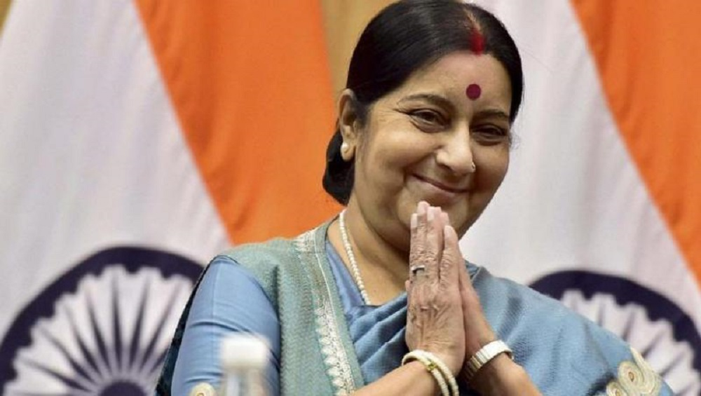 Sushma Swaraj (Image credits: PTI)