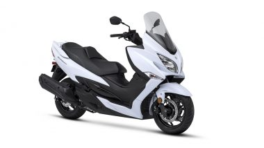 Suzuki Burgman Street 125 Scooter Launched in India at Rs 68,000