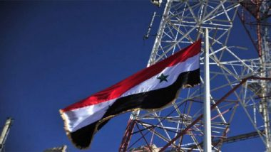 Eight Years After Civil War Outbreak, Syrian Government Forces Raise Flag Over Dera'a