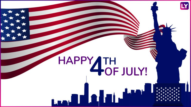 Happy 4th of July Quotes & Greetings: Send WhatsApp Images and GIF Messages to Wish on American Independence Day