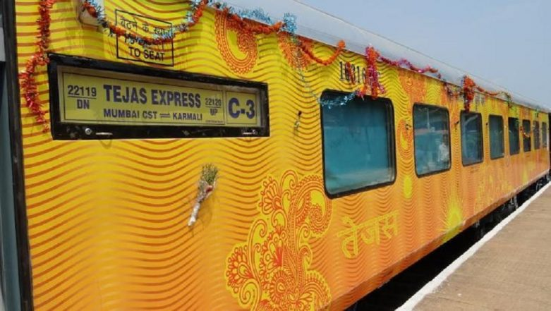 IRCTC to Provide Taxi, Hotel Booking Services to Passengers Travelling on Tejas Express on Delhi-Lucknow & Mumbai-Ahmedabad Routes