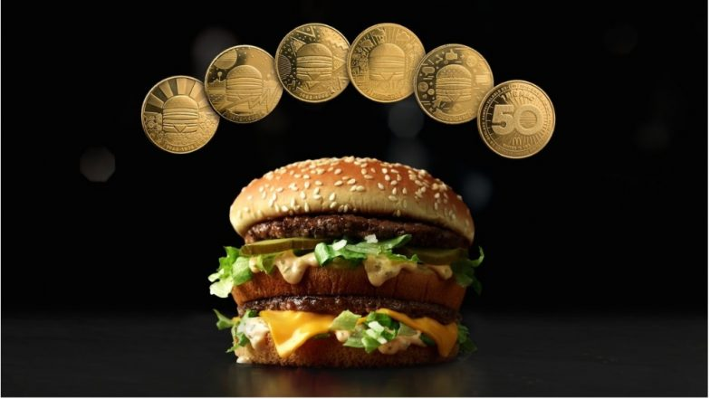 McDonald's Celebrates 50th Anniversary of the Big Mac! Marks the Occasion by Launching the MacCoin Currency Worldwide