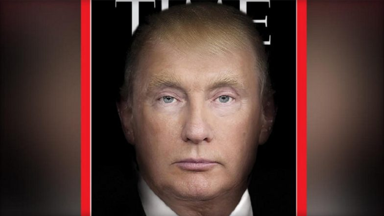 TIME Magazine Morphs Donald Trump and Vladimir Putin into One Face on its Cover