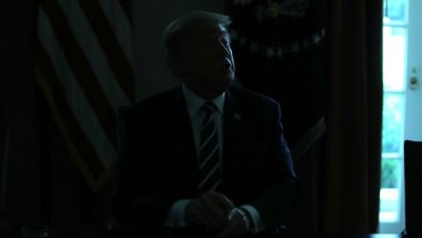Power Cut in White House While Donald Trump Speaks, He Jokingly Blames US Intelligence Agencies