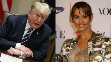 Donald Trump's Former Lawyer Michael Cohen Recorded Trump Discussing Payment to Ex-Playboy Model Karen McDougal