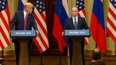 Why is Donald Trump Being Criticised for his Meeting with Vladimir Putin?