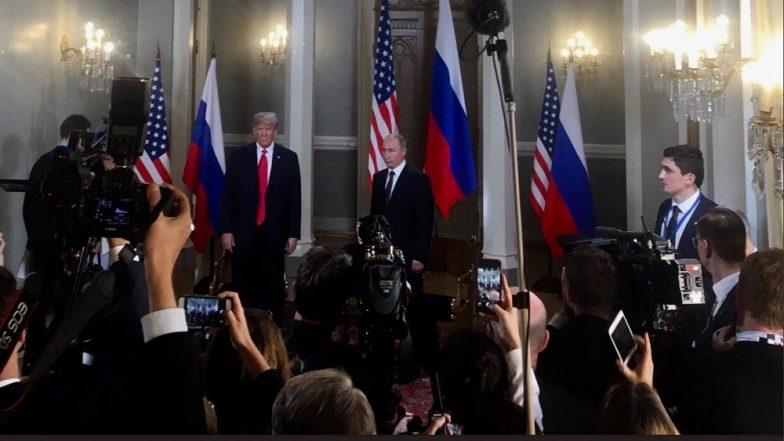 Donald Trump to Vladimir Putin in Helsinki: World Wants Us to Get Along