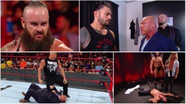 WWE Monday Night RAW Matches' Results and Highlights: Brock Lesnar Returns, Assaults Paul Heyman and Kurt Angle