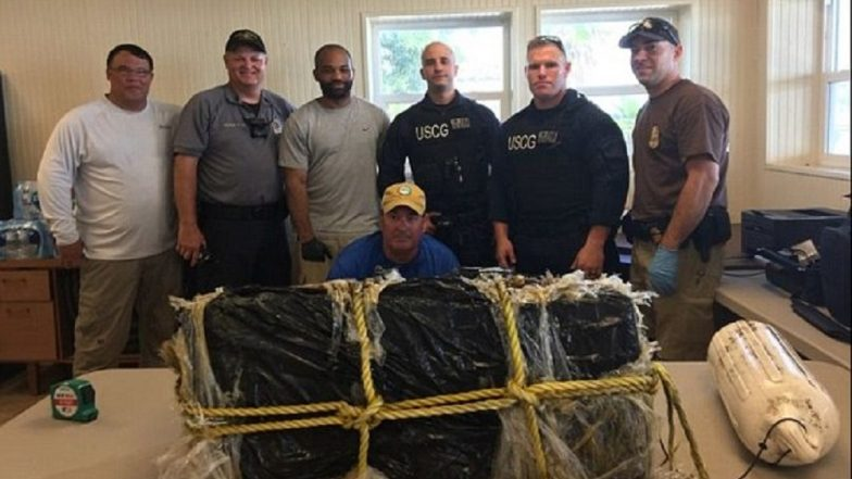 US Coast Guard Recovers 75 Pounds of Cocaine Floating in Gulf of Mexico Off Florida