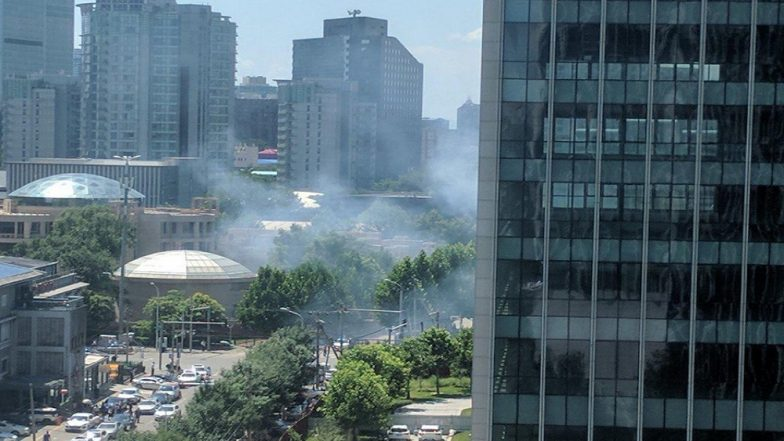 Blast near U.S. Embassy in Beijing Caused by 'Suspected Firecracker Device' say Chinese Police
