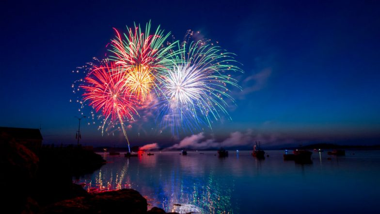 Happy US Independence Day 2018 Fireworks' Video: Watch People of the United States Celebrate Fourth of July With Joy and Fervour!